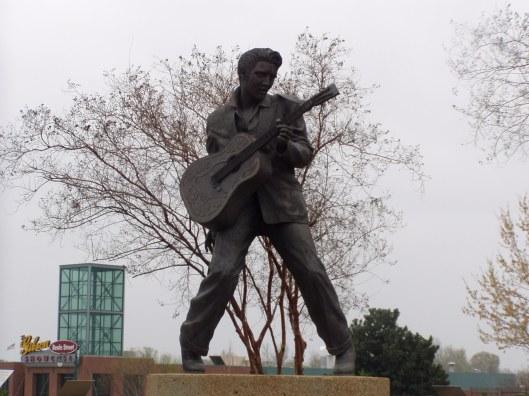 La figura de Elvis, siempre presente en Memphis | Foto José Luis González