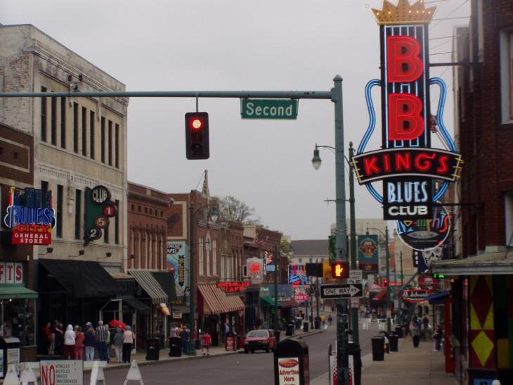 El mejor blues de Memphis se escucha en Beale Street | Foto José Luis González