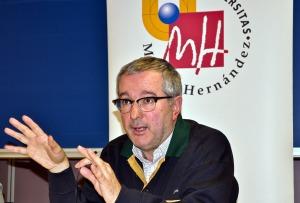 Alfonso Armada, en Periodismo UMH / Foto: INÉS RODRÍGUEZ