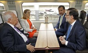 Viaje inaugural AVE Madrid-Alicante.