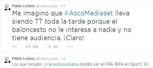 #AscoMediaset