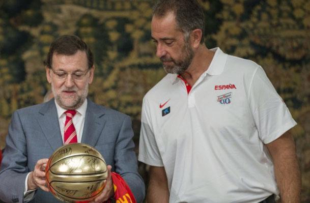 Rajoy y Orenga, dos cracks!