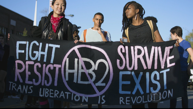 Movilización en Carolina del Norte contra la Ley Baño | FOTO La Tendencia