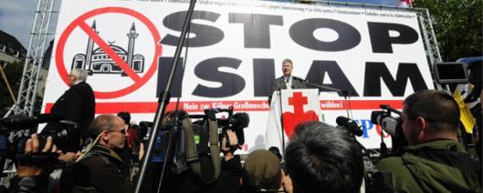 Actos de islamofobia en el corazón de Europa.