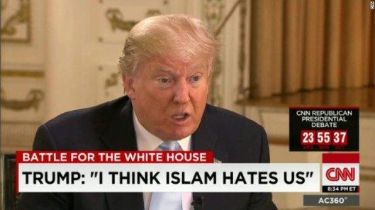 Entrevista a Trump en la CNN