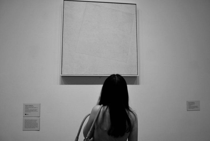 Kazimir Malevich 1918 Blanco sobre Blanco